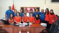 YıLMAZ ARSLAN - Genç Bayan Güreş Milli Takımı'nın Yalova Kampı Sona Erdi