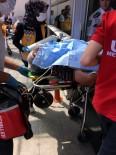 KİMYASAL MADDE - İçinde Kimyasal Madde Olan Varil Patladı Açıklaması 1 Yaralı