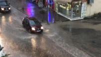 SAĞANAK YAĞMUR - Kars'ta Sıcak Ve Güneşli Hava Yerini Yağmura Bıraktı