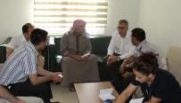 İBRAHİM TUNÇ - KHB Genel Sekreteri Öz, Sahra Hastanesini Ziyaret Etti