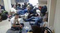 GÖÇMEN KAÇAKÇILIĞI - Milas'ta 58 Sığınmacı Yakalandı