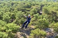 CANLI YAYIN - Park Orman'da Zıpline Heyecanı