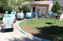 ÇÖP KONTEYNERİ - Şanlıurfa'da Motosikletli İlaçlama Timi Kuruldu