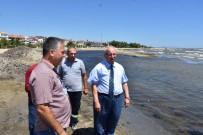 HOŞKÖY - Şarköy'de Kıyı Temizleme Çalışmalarını İnceledi