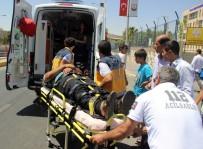 AŞIRI HIZ - Ters Dönen Otomobilin Sürücüsü Ağır Yaralandı