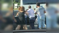 ABANT - Trafikte Sopalı Kavga