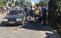 BAŞPıNAR - Uşak'ta Trafik Kazası; 1 Ağır Yaralı