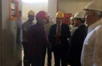 Vali Ali Hamza Pehlivan, Doğal Taş Fabrikasında İncelemelerde Bulundu