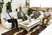 E-DEVLET - Vergi Dairesi Başkanı Poyraz'dan Belediye Başkanı Gürkan'a Ziyaret