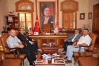 BILECIK MERKEZ - AK Parti Heyetinden Başkan Yağcı'ya Ziyaret