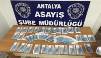 TÜRK LIRASı - Antalya'da  'Ucuz Sterlin' Çetesi Çökertildi