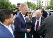 CEMAL HÜSNÜ KANSIZ - Başbakan Binali Yıldırım, Çekmeköy Belediyesi'ni Ziyaret Etti