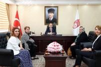 Bayburtlu Kadınlar Yardımlaşma Ve Dayanışma Derneği, Vali Ali Hamza Pehlivan'ı Ziyaret Etti
