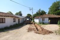 DOĞALGAZ HATTI - Biga'nın  Çavuşköy Mahallesi De Doğalgaza Kavuştu