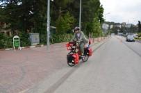 DİN KÜLTÜRÜ VE AHLAK BİLGİSİ - Bisikletiyle 'Devlet Kuran Sultanlardan Devlet Kurtaran Şehide Yolculuk' Turuna Çıkan Öğretmen Bilecik'te Mola Verdi