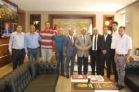 HIZMET İŞ SENDIKASı - Hizmet İş Sendikası'ndan Başkan Karaçanta'ya Ziyaret