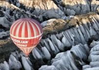 KAPADOKYA - Kapadokya'da Turistlerin Balon Keyfi