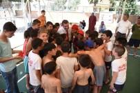 ALPARSLAN TÜRKEŞ - Karesi'de Çocuklar Yüzmeye Koştu