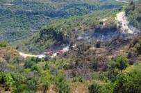 LAZKİYE - Suriye Sınırındaki Yangın Türkiye'ye Sıçradı