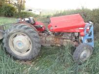 YAKıNCA - Tokat'ta Traktör Devrildi Açıklaması 3 Yaralı