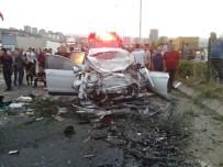 Trabzon'da feci kaza:1 ölü, 8 yaralı