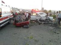 Trabzon'da Trafik Kazası Açıklaması 1 Ölü, 8 Yaralı
