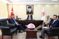 BAYBURT ÜNİVERSİTESİ REKTÖRÜ - Vali Ali Hamza Pehlivan'a Hayırlı Olsun Ziyaretleri Devam Ediyor