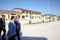 Vali Ali Hamza Pehlivan, Mesleki Ve Teknik Anadolu Lisesi'nde İncelemelerde Bulundu