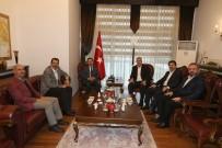 AYHAN SEFER ÜSTÜN - Başkan Toçoğlu'ndan, Vali Balkanlıoğlu'na Hayırlı Olsun Ziyareti