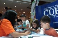 FUTBOL MAÇI - Çocuklar, Maker Teknoloji Atölyesi'nde Kendi Robotlarını Tasarladı