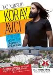 KORAY AVCı - Döşemealtı Belediyesi'den Yaz Konseri