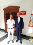 ABDULLAH ERIN - Ekrem Arpak'tan Şanlıurfa Valisi Abdullah Erin'e Hoşgeldin Ziyareti