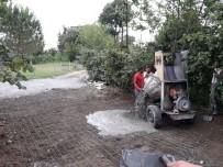 KAYAKÖY - Fatsa'da Beton Yol Çalışması