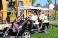 GOLF - Golf Aracı Düğün Arabası Oldu