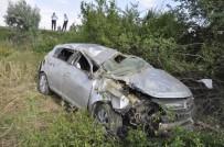 TAŞAĞıL - Hurdaya Dönen Otomobilden Yaralı Kurtuldu