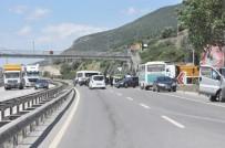 POLİS TEŞKİLATI - İhbar Üzerine İlk Kez Trafik Tamamen Kapatıldı