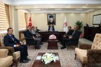 Kamu Kurum Ve Kuruluşlarının Amirleri Vali Ali Hamza Pehlivan'ı Ziyaret Etti
