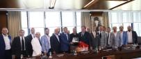 SANCAKTEPE BELEDİYESPOR - Kulüplerden Başkan Demirören'e Ziyaret