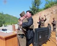 DEVLET TELEVİZYONU - Kuzey Kore, Balistik Füze Denemesinin Fotoğraflarını Yayınladı