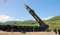 DEVLET TELEVİZYONU - Kuzey Kore füze denemesinin fotoğraflarını yayınladı