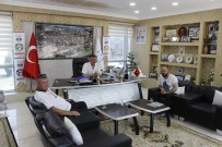 AHMET ZENGİN - Muhtarlardan Başkan Duymuş'a Ziyaret