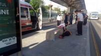 MADDE BAĞIMLISI - Bonzai İçen Genç, Metrobüs Seferlerini Aksattı