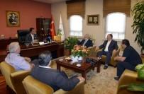 MUSTAFA DÜNDAR - Rektör Yusuf Ulcay'dan Başkan Dündar'a Ziyaret