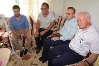 BÜLENT TURAN - Turan, Lapseki'de Bulunan Yaşlı Ve Hastaları Ziyaret Etti