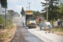 YAT LİMANI - Akdam Mahallesinde Asfalt Çalışması