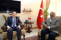 VALILER KARARNAMESI - Baksı Müzesi Kurucusu Prof. Dr. Hüsamettin Koçan, Vali Ali Hamza Pehlivan'ı Ziyaret Etti
