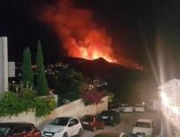 ORMAN İŞÇİSİ - Bodrum Yalıkavak sit alanında korkutan yangın