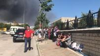 Bursa'daki Fabrika Yangınında 100 İşçi Kısa Sürede Tahliye Edildi