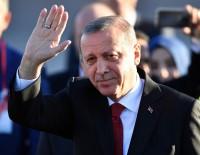 KARA PARA - Cumhurbaşkanı Erdoğan, Almanya'ya geldi