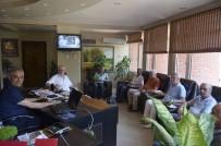 MUSTAFA GÜLER - Emekli Öğretmenlerden Başkan Yaman'a Ziyaret